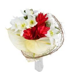 Bouquet de mariée Opale