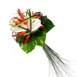 Bouquet de mariée Ambre