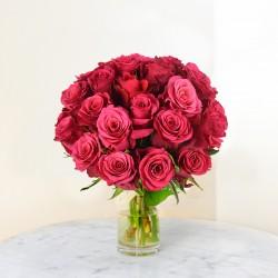 Bouquet de Roses roses claires